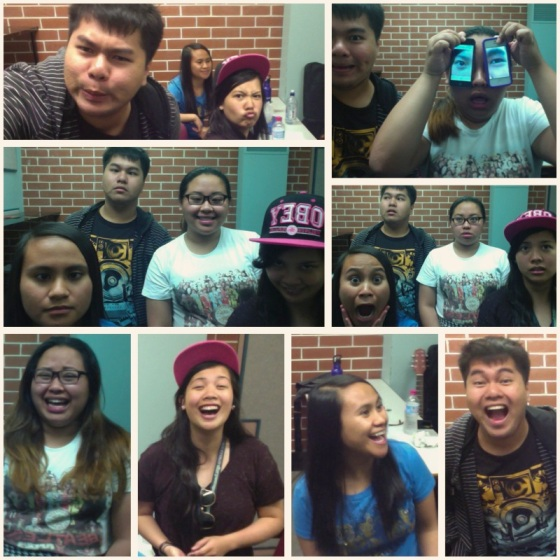 "We can never let a day pass without photobooth-ing. We believe in the saying that ""Crazy is creative."""