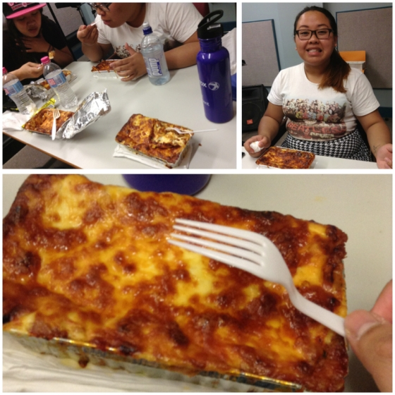 How could lasagne taste this good! And there is one word to describe it: heavenly. Quoted from Gerielle.