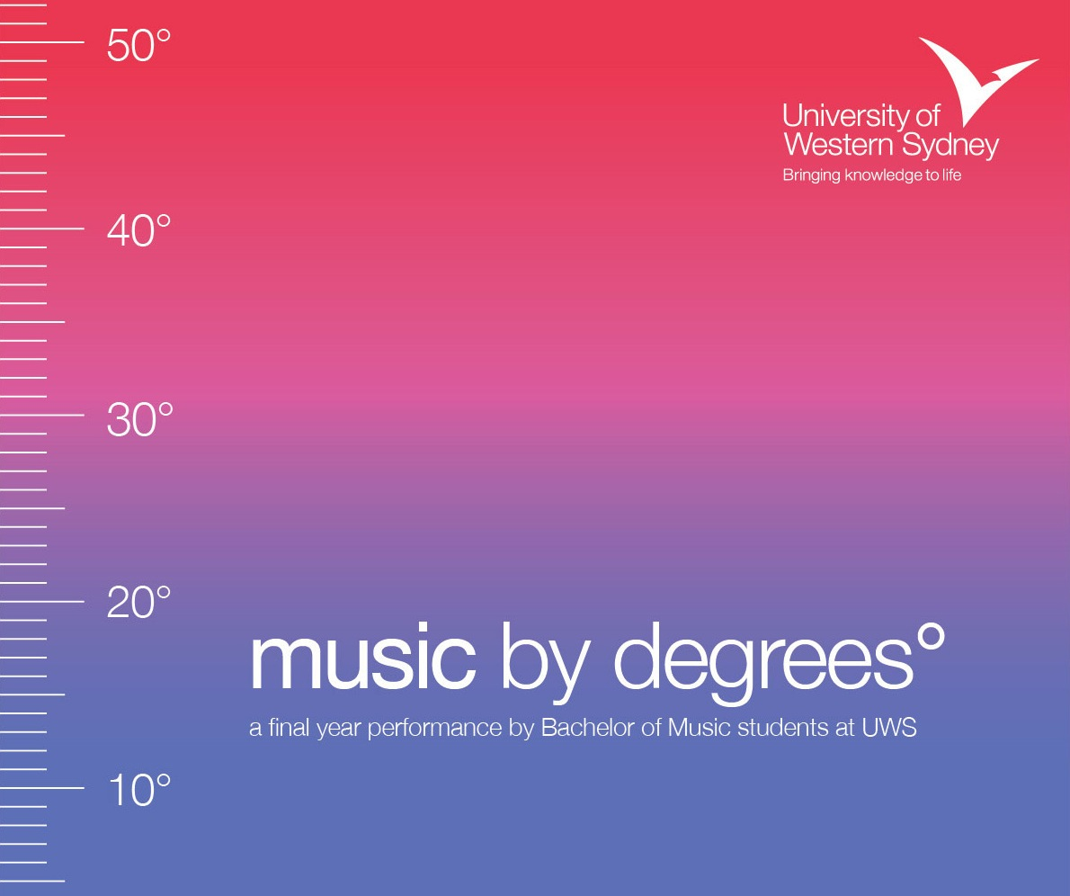 """Music By Degrees"" Official Poster"