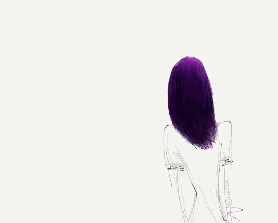 Yeng's Purple Hair