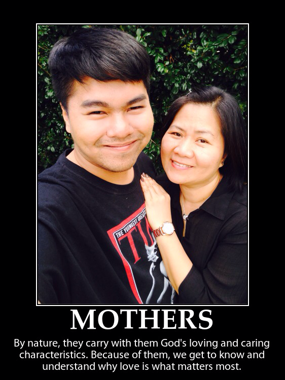 Rie Manaloto_mother
